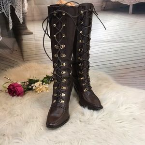 Super-sexy Michael Kors Jolene Lace-up Boots
